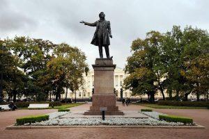 Памятник Пушкину на площади Искусств, Санкт-Петербург