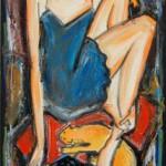 Художник Denis Chiasson и его читающие женщины