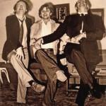 Иосиф Александрович, Михаил Николаевич и Мстислав Леопольдович исполняют «танец маленьких лебедей»