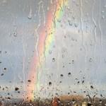 Летний дождь за балконом,