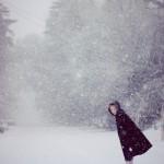 Зима! С морозом, с белым снегом,