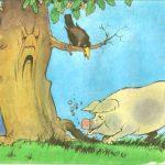 Свинья и дуб в басне Крылова