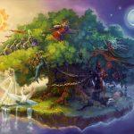 У лукоморья дуб зелёный-А. С. Пушкин