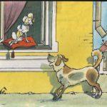 """Басня Крылова """"Две собаки"""""""